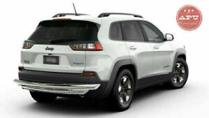 Apu 14 19 Jeep Grand Cherokee Stailness Double Layer Rear Bumper Guard