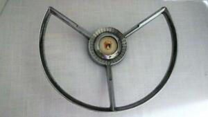 Vintage 1950 S Ford Steering Wheel Horn Ring