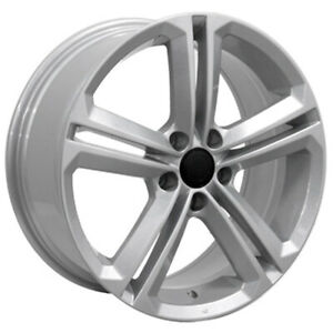 Silver Wheel 18x8 For 2009 2014 Volkswagen Tiguan 69924 Owh1278