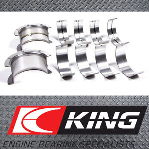 King Mb5008si 010 Main Bearings Suits Ford Eddf Zh20 Zetec E Focus