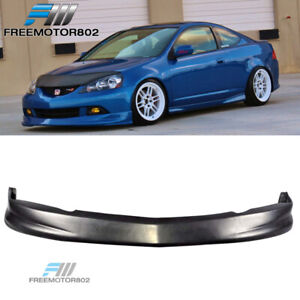 Fits 05 06 Acura Rsx Coupe Dc5 P1 Style Front Bumper Lip Spoiler Bodykit Pu