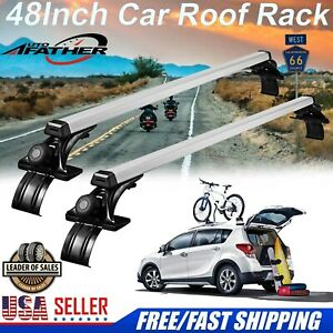 For Ford Focus Fusion 48in Car Luggage Cross Bars Roof Rack Carrier Window Frame