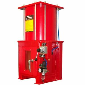 10 Ton Air Hydraulic Oil Filter Crasher Floor Stand Included