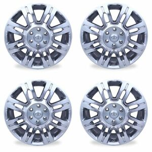 Set Of 20 Wheels For 2009 2014 Ford F150 Expedition Polished Oem Quality 3788