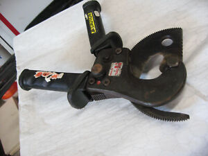 Huskie R 750b Ratcheting Cable Cutter Light Use Sharp Edges