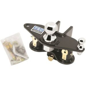 58442 Pro Series Weight Distributing Head With Hitch Ball Sway Control Ball