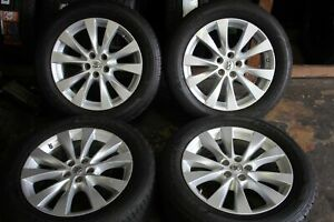 Set Of Four Toyota Venza 2013 2014 2015 19 Oem 245 55 19 Rims Tires 69620 0519