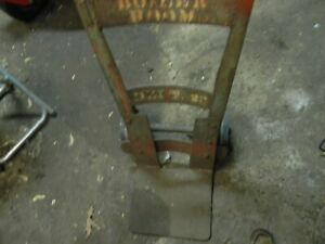 Vintage Farmer Antique Industrial Hand Truck Cart