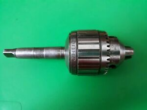 Jacobs Ball Bearing Drill Chuck No 14n 0 1 2 Cap W 2mt Shank