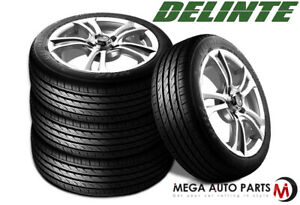 2 New Delinte Dh2 205 40r17 84w Durable All Season Performance Tires 205 40 17
