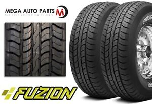 2 Fuzion Suv By Bridgestone 235 70r16 106t Owl All Season Performance Tires