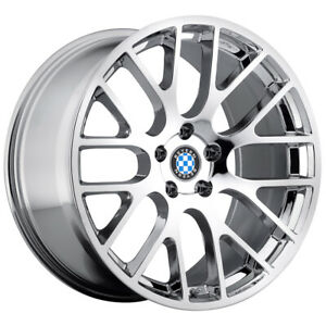Beyern Spartan 17x8 5x120 15mm Chrome Wheel Rim