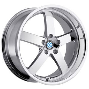 Beyern Rapp 17x8 5x120 15mm Chrome Wheel Rim
