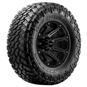 4 Lt295 70r17 Nitto Trail Grappler Mt 121p E 10 Ply Bsw Tires