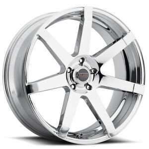 Milanni 9042 Sultan 24x9 5 5x120 15mm Chrome Wheel Rim 24 Inch