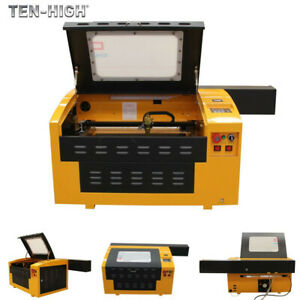 60w Upgraded Usb 400 300mm Co2 Laser Engraving Cutting Machine Engraver Cutter
