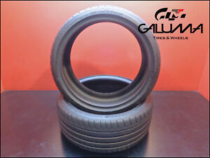 2 Two Tires Nice Dunlop 245 35 20 Sp Sport Maxx Gt 95y Runflat Bmw Nopatch 50226