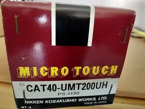 Nikken Micro Touch Probe Cat40 Umt200uh brand New In Box