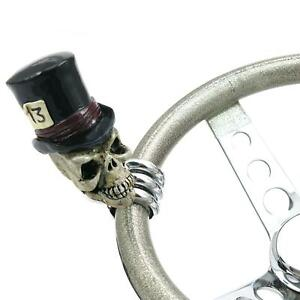 American Shifter Ascbn00022 Timmy The Top Hat Skull Custom Brody Knob