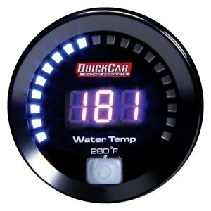 Quickcar Racing 2 1 16 Digital Water Temperature Gauge 100 280 F
