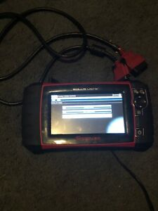 Snap on Solus Ultra Eesc318 16 2 Diagnostic Scanner And Adapter Cable