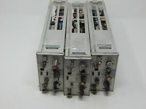 Tektronix Dual Trace Amplifier Lot Of 3 Two 7a26 One 7a24 For Parts R20064