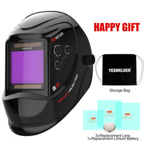 True Color Wide Lens Auto Shade Welding Helmet With Grind cut Mode 4 5 9 9 13
