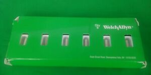 Welch Allyn Genuine 03000 u Bulbs For 11710 Ophthalmoscope new Pack Of 6