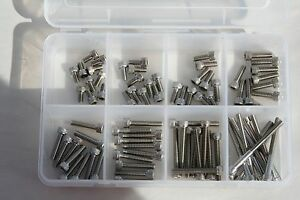 1 4 28 X 1 2 Thru 2 Stainless Steel Socket Head Cap Screw Assortment
