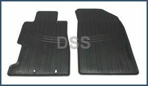 Genuine Honda Civic Front Floor Mat Set Rubber All Weather Black Oe 08p13s5d100