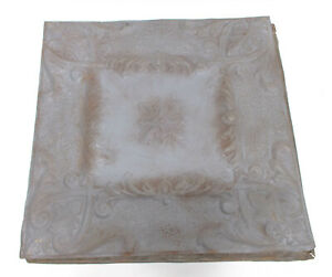 Set Of 10 Decorative Tin Ceiling Tile Sheets 24 X 24 Gray