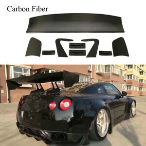 Universal Rear Trunk Spoiler Car Wing Fit For Audi Benz Ford Honda Bmw Sedan