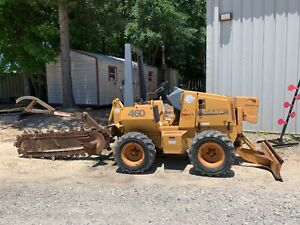 Case 460 Ride on Trencher