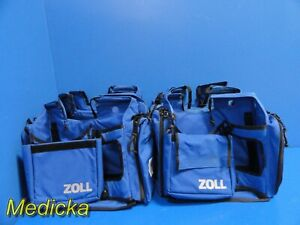 Lot Of 6 Zoll Company Monitor Carrying Cases in Good Cosmetics 18241