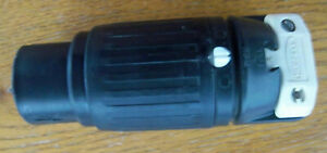 Hubbell Hbl3764c 3764c 50 Amp 250 Vdc 600 Vac 3p 4w Connector