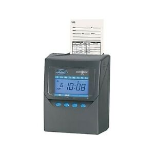 Lathem Time 7500e Electronic Time Clock Brand New In Factory Box