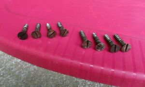 2 Sets Of 4 Antique Singer Treadle Base To Table Screws
