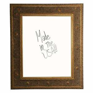 American Made Rayne Opulent Gold Dry Erase Board