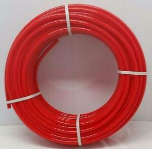 1 2 250 Coil Red Certified Non barrier Pex Tubing Htg plbg potable Water
