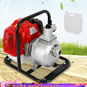 43cc 1 7hp 2 Stroke Water Transfer Pump Petrol Garden Flow Irrigation Pump Stock