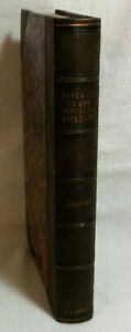 Antique Book Abstract Of The Medical Sciences 1867 68 1st Edition Leather Bound