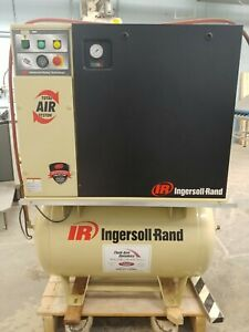 Ingersoll Rand Up6 5tas 125 80 230v Rotary Screw Air Compressor W air Dryer 5 Hp