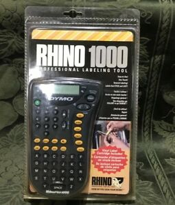 Dymo Rhino 1000 Industrial Label Maker new In Box