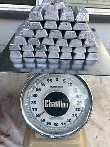 62 + Lbs Lead Ingot bars for Fishing Sinker Weights  bullet casting ect