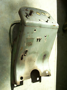 Vintage Oliver 88 Row Crop Tractor dash Battery Tray Assembly 1955