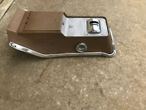 1962 1963 Original Gm Olds Oldsmobile Center Floor Shift Console Extra Nice