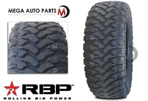 1 Rbp Repulsor M T 35x13 50r20lt 124q 10ply All Terrain Mud Truck Tires Mt