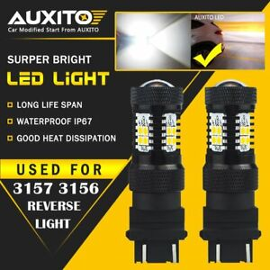 Auxito 3156 3157 Led Reverse Backup Light Bulb For Gmc Sierra 1500 1999 2013 14k