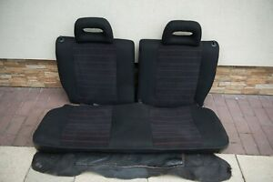 Ultra Rare Honda Civic Edm Jdm Ef9 Ee9 1987 1991 Sir Ivt B16a Rear Seat Seats