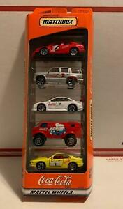 Matchbox COCA-COLA 5 pack with Polar Bears art work from 1998 cars  van  SUV